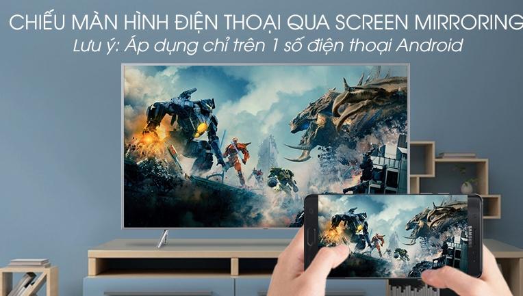 Chiếu màn hình qua Screen Mirroring