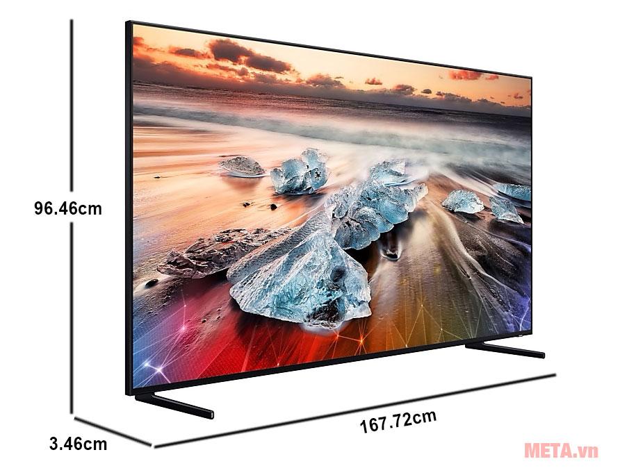 Tivi QLED Samsung Smart 8K QA75Q900R