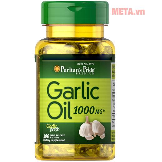 Viên uống tinh dầu tỏi dạng viên nang dễ sử dụng