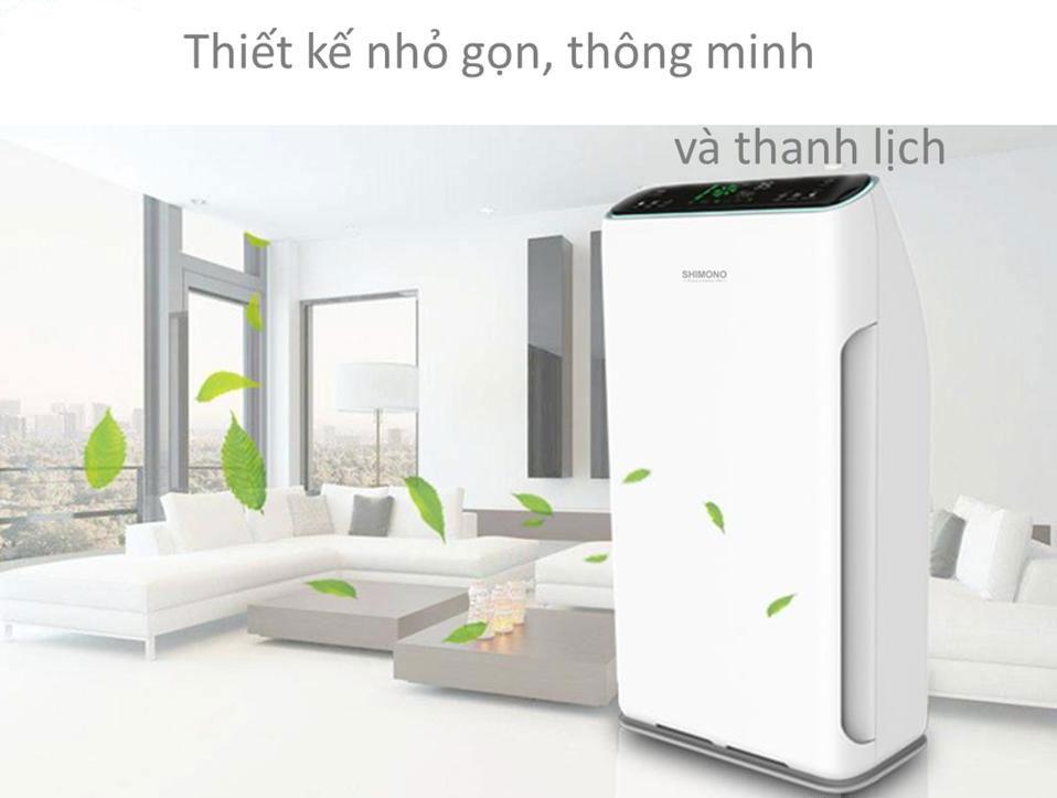 Máy lọc không khí gia đình sử dụng cho diện tích 20 - 50 m2