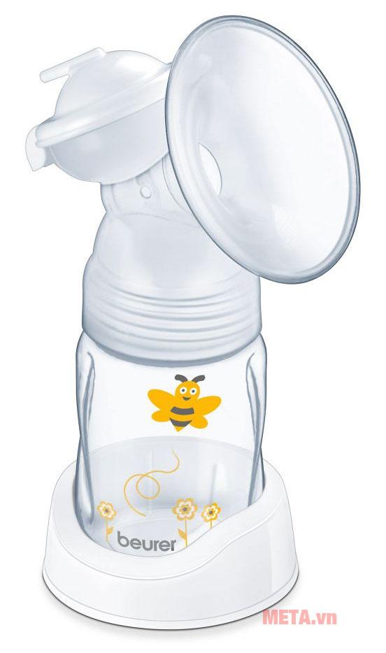Bình chứa sử dụng chất liệu cao cấp, không độc hại với trẻ em