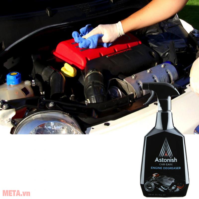 Bình xịt tẩy dầu nhớt và động cơ xe ô tô