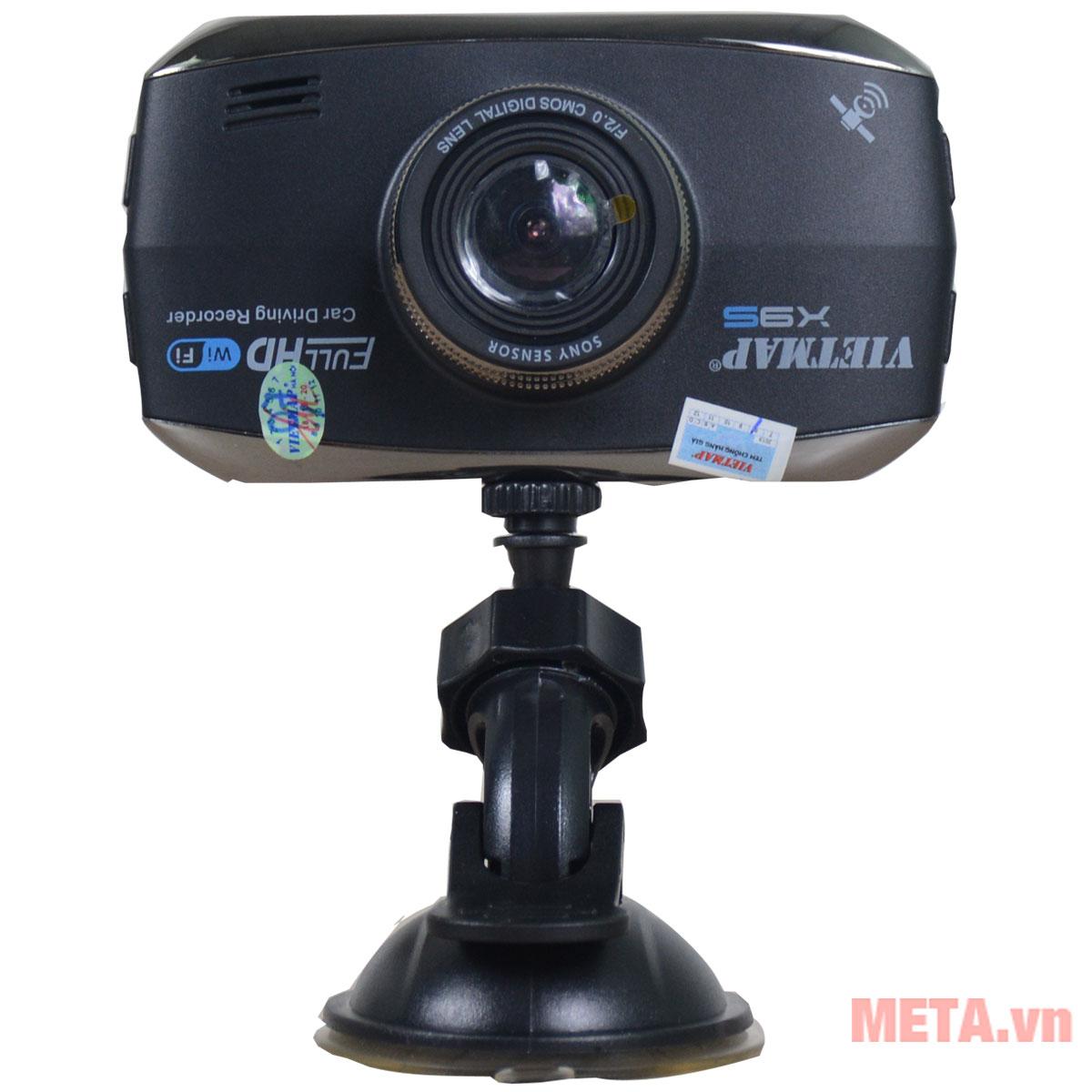 Hình ảnh camera hành trình VietMap X9S