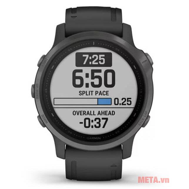 Đồng hồ Garmin Fenix 6S có màn hình chống chói