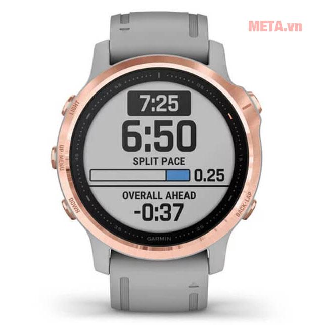 Đồng hồ Garmin Fenix 6S được tích hợp thêm tính năng cảnh báo nguy hiểm