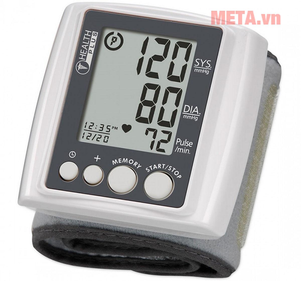 Máy đo huyết áp cổ tay dễ dàng sử dụng tại nhà