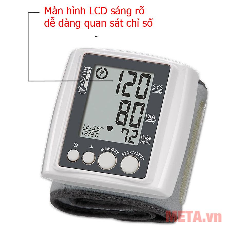 Thiết kế màn hình LCD sáng rõ dễ dàng quan sát