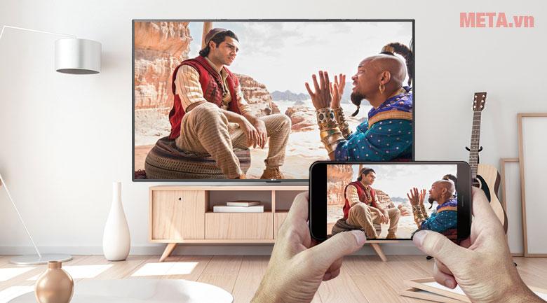 Trình chiếu màn hình điện thoại lên tivi bằng tính năng Screen Mirroring
