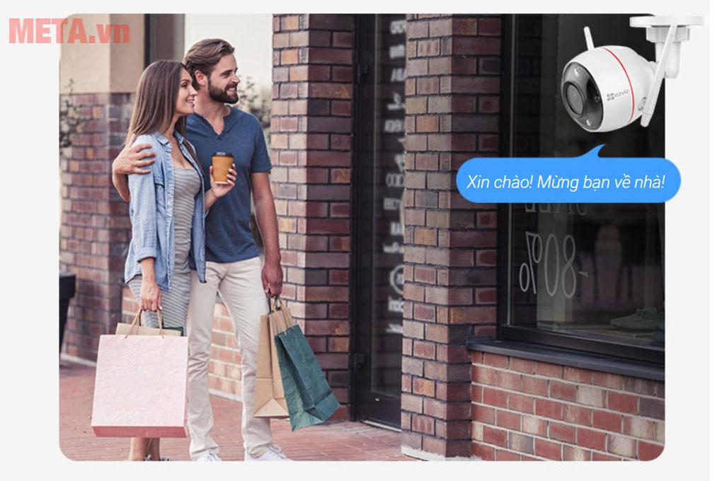 Camera có chức năng ghi âm tin nhắn