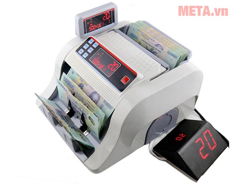 Máy đếm tiền kiểm tra tiền siêu giả