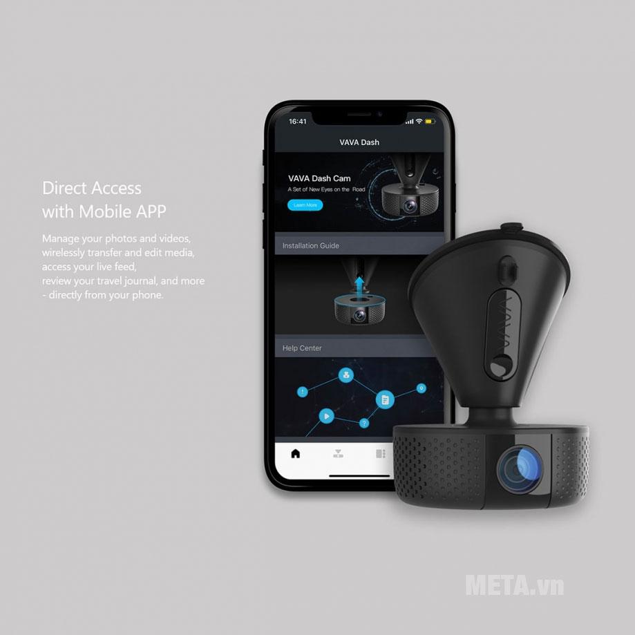 Camera kết nối thông minh với smartphone