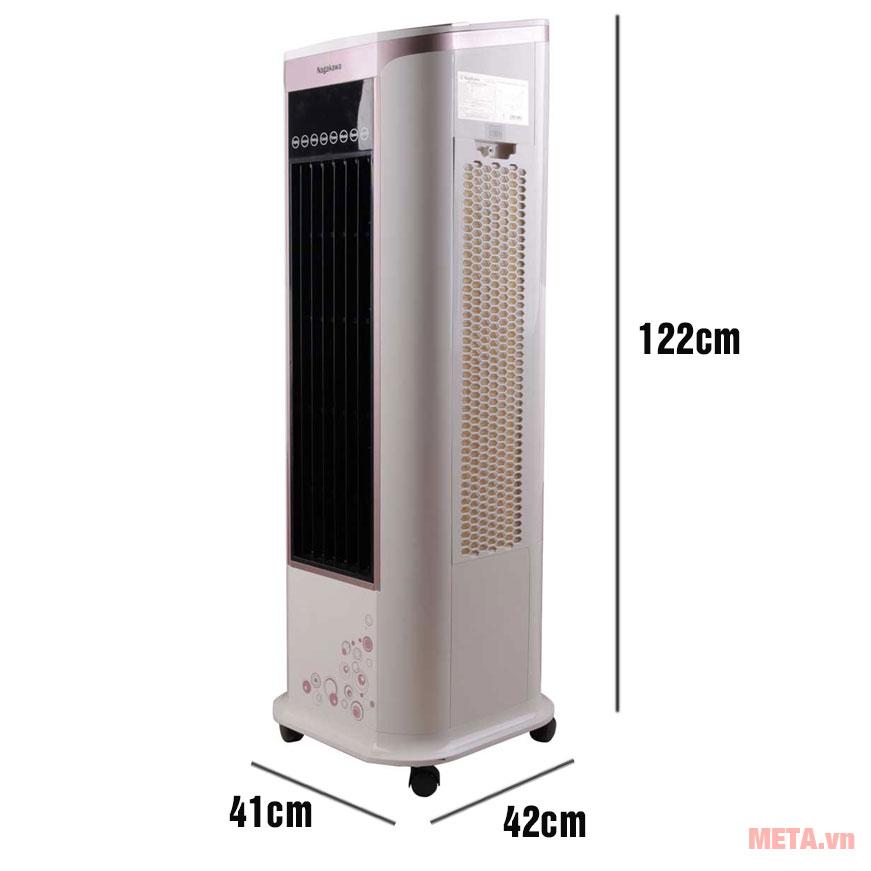 Kích thước máy làm mát Nagakawa NFC888