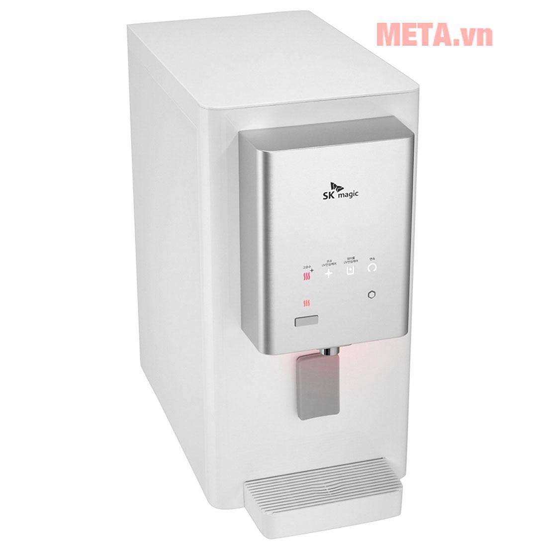 Đèn led ở vòi nước báo hiệu các chế độ nhiệt khác nhau