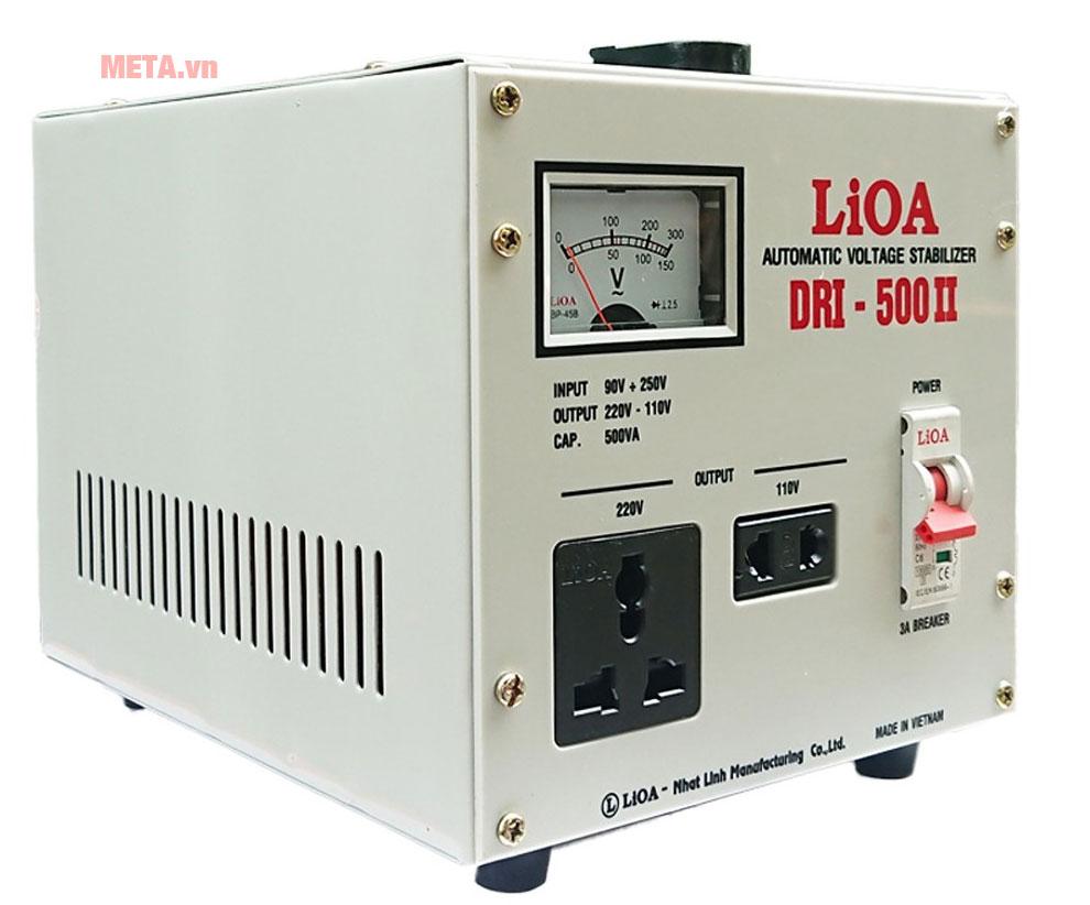 Ổn áp 1 pha Lioa 500VA DRI 500