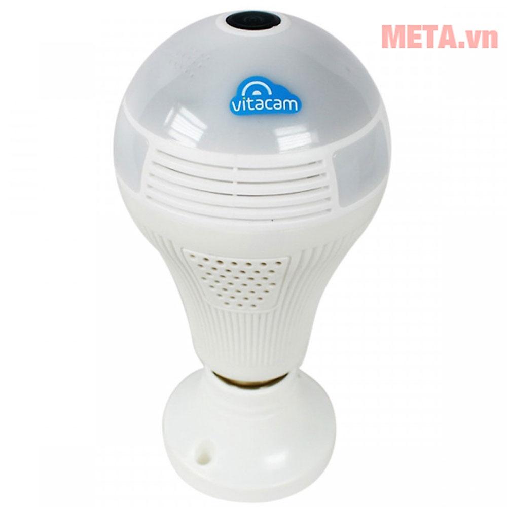 Camera bóng đèn có khả năng ghi hình 360 độ không bỏ qua bất kỳ chuyển động nào