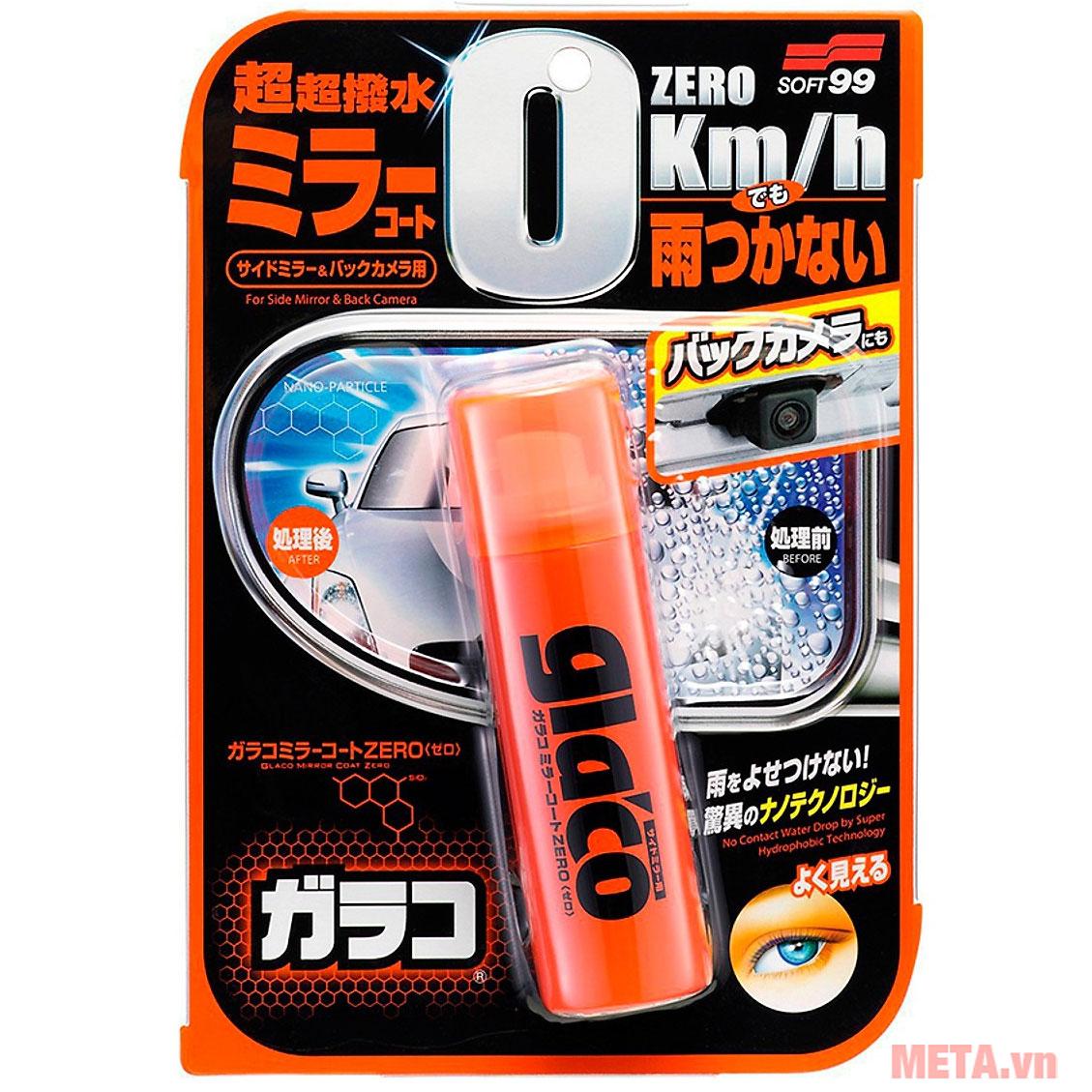 Glaco Mirror Coat Zero Soft99 VC-ADR-01