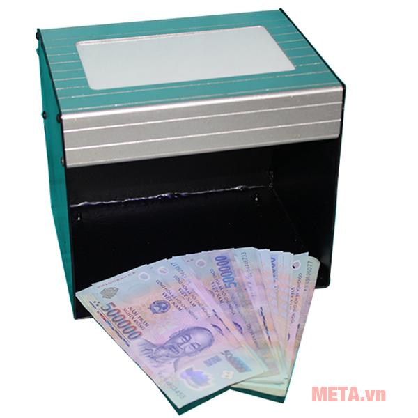 Máy soi tiền, giấy tờ giả thông qua đèn tia UV và ánh sáng trắng