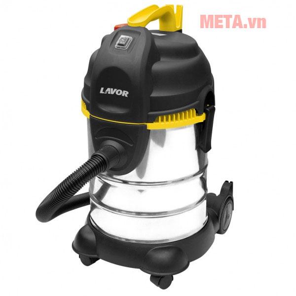 Máy hút bụi công nghiệp Lavor có khả năng hút bụi khô và ướt
