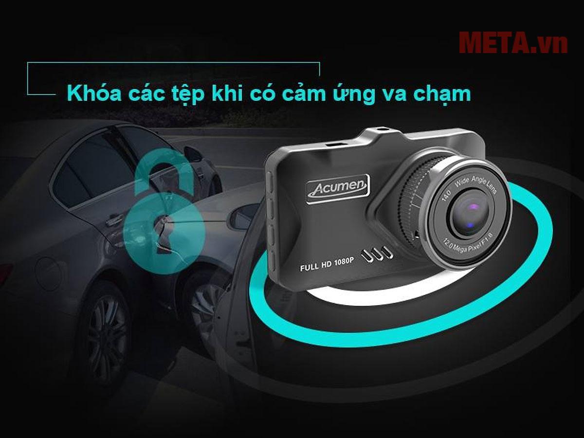 Có chức năng cảm biến va chạm đảm bảo an toàn khi lái xe