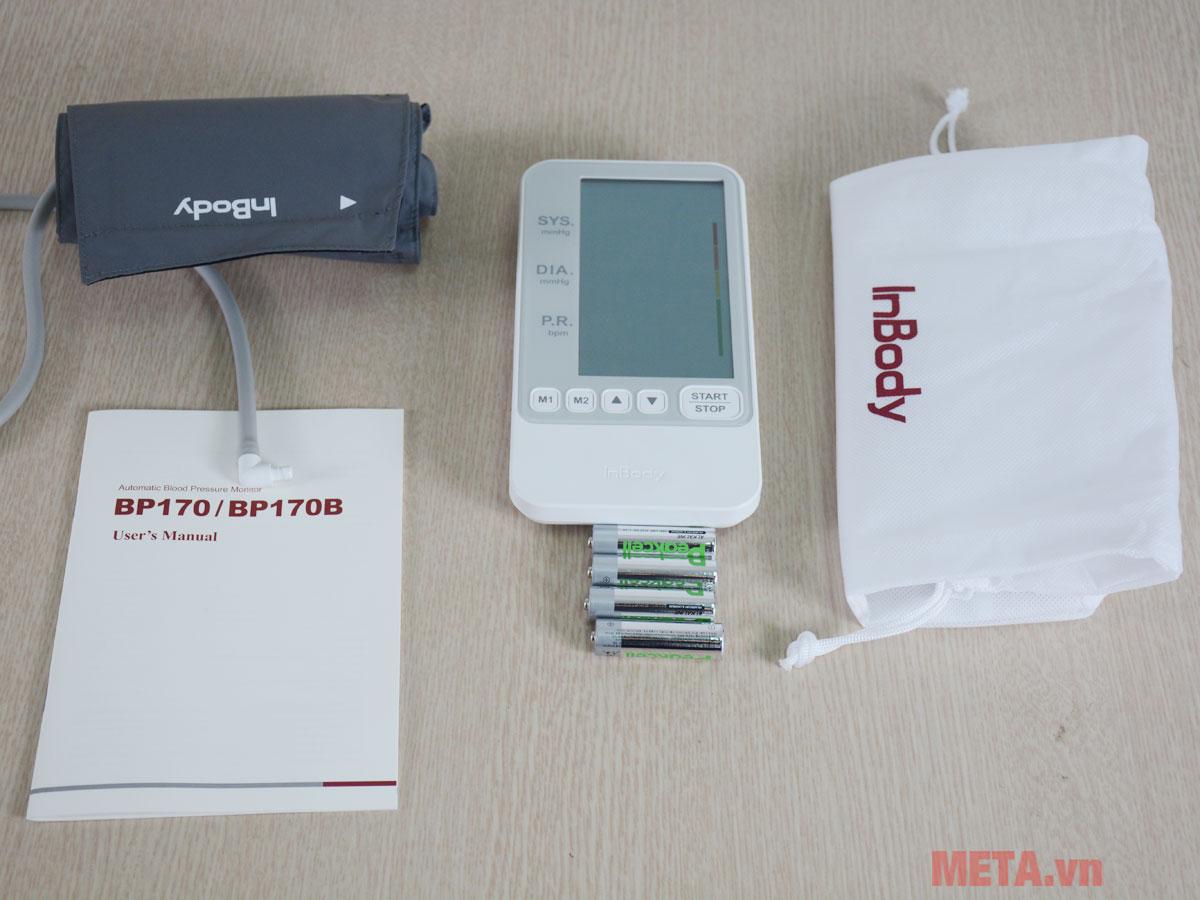 Trọn bộ sản phẩm máy đo huyết áp