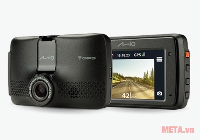 Camera hành trình Mio MiVue 733 đảm bảo mọi cảnh quay đều được ghi lại