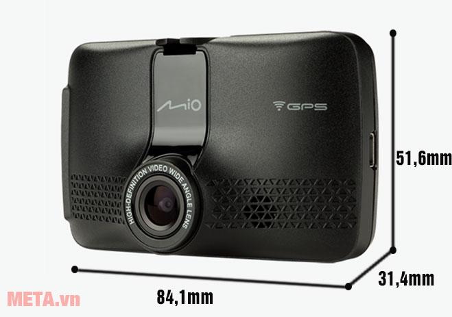 Kích thước của camera hành trình Mio