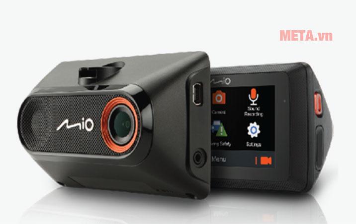 Camera hành trình Mio MiVue 785 thiết kế dạng trượt thông minh