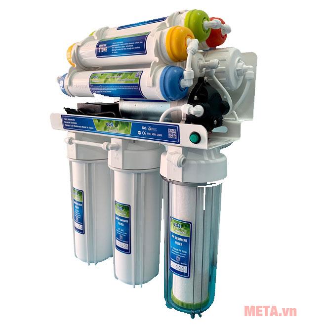 Máy lọc nước Eco Green Classical với 10 lõi lọc