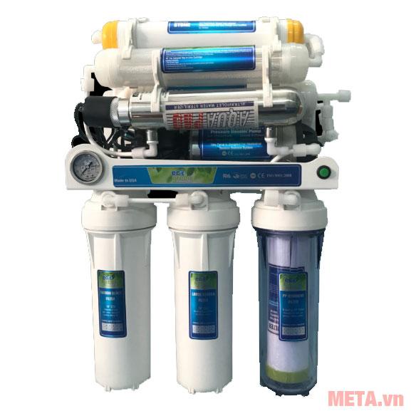 Hình ảnh lõi lọc máy lọc nước Eco Green HYDROGEN cấp UV