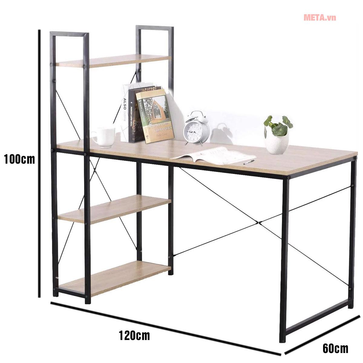 Kích thước bàn văn phòng Kachi MK184