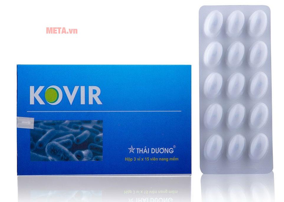 Hình ảnh hộp viên uống Kovir (Hộp 45 viên)