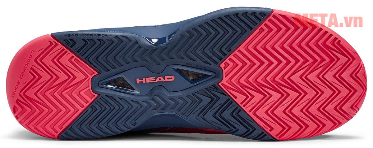 Đế giày rộng kèm rãnh chống trơn trượt hiệu quả