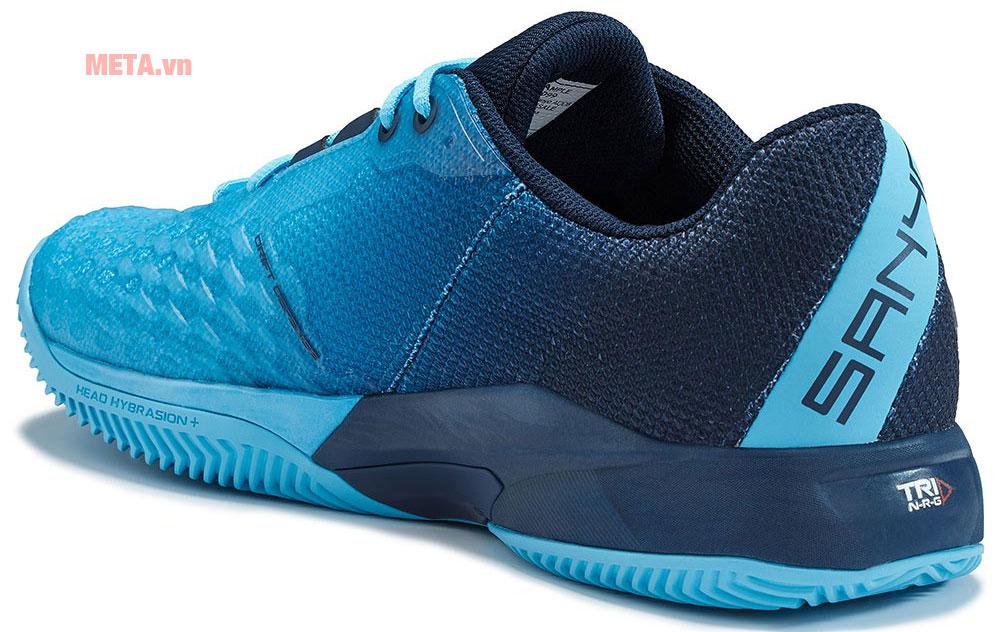Giày có màu đỏ và xanh để lựa chọn