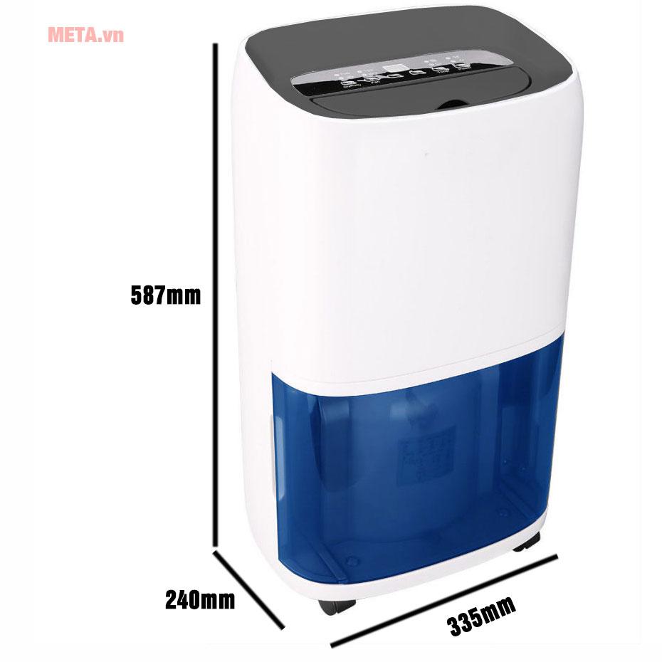 Kích thước máy hút ẩm Kasami KD-20EB