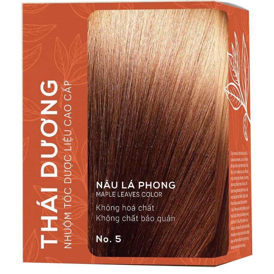 Thuốc nhuộm tóc dược liệu Thái Dương an toàn, hiệu quả