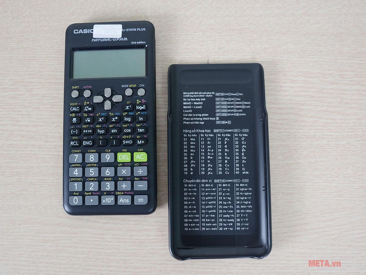 Máy tính bỏ túi Casio FX-570VN Plus sử dụng cho mọi học sinh đến cấp đại học