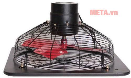 Khung quạt sử dụng chất liệu kim loại sơn tĩnh điện bền bỉ