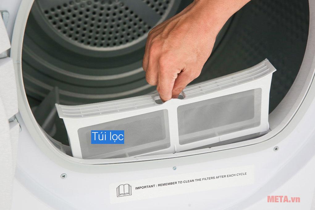 Túi lọc xơ vải giúp quần áo bền bỉ, sạch sẽ hơn