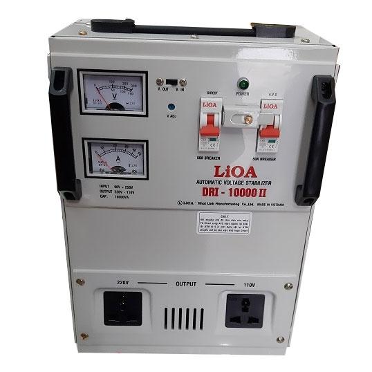 Ổn áp 1 pha Lioa DRI 10000 có công suất 10kVA mạnh mẽ, tiêu hao điện năng thấp