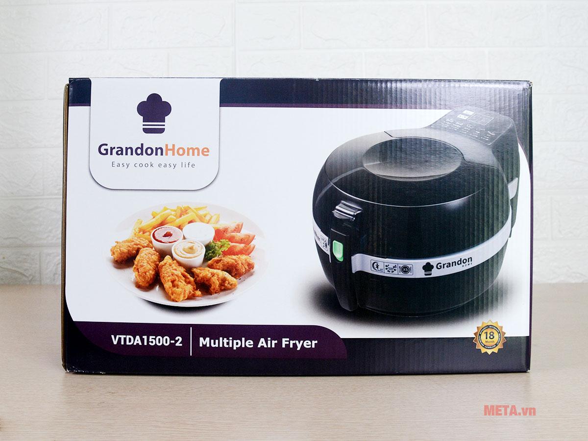 Hộp đựng nồi chiên không dầu Grandon Home VTDA1500-2