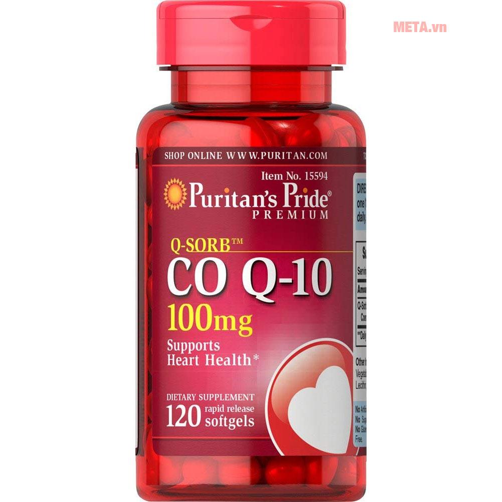 Puritan's Pride Q-SORB™ CO Q-10 100mg (15594)