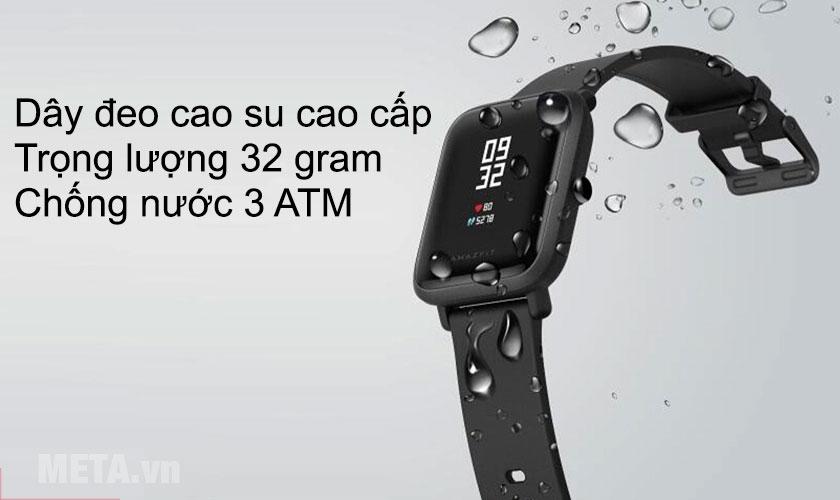 Đồng hồ chuẩn chống nước 3ATM
