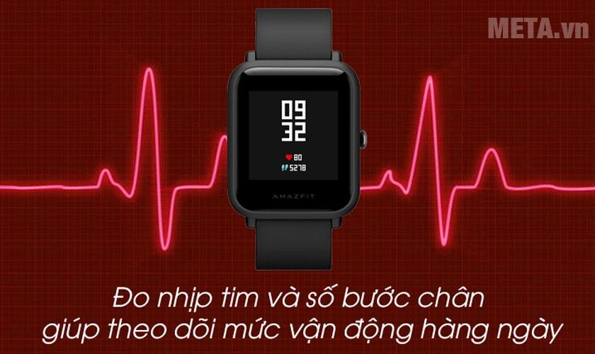 Chức năng đo nhịp tim và theo dõi vận động