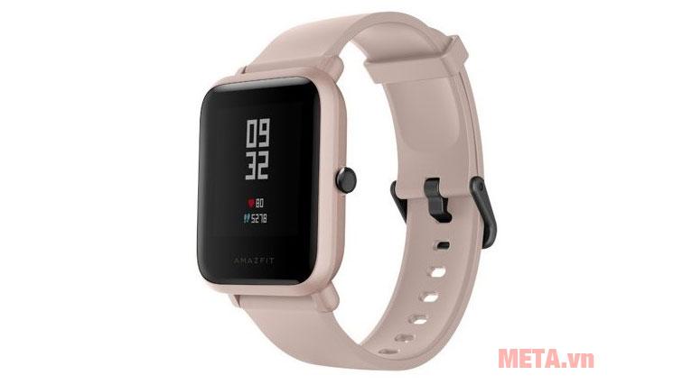 Đồng hồ thông minh Xiaomi Amazfit Bip Lite màu hồng