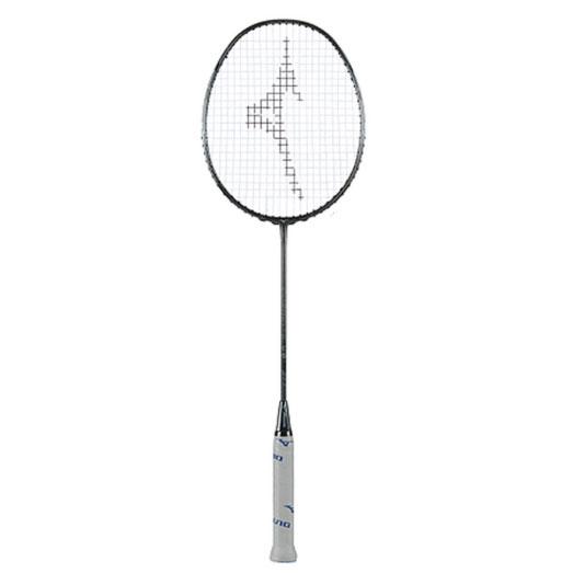 Vợt cầu lông Mizuno DURALITE 68 (75g) có in logo và dòng vợt trên cán vợt