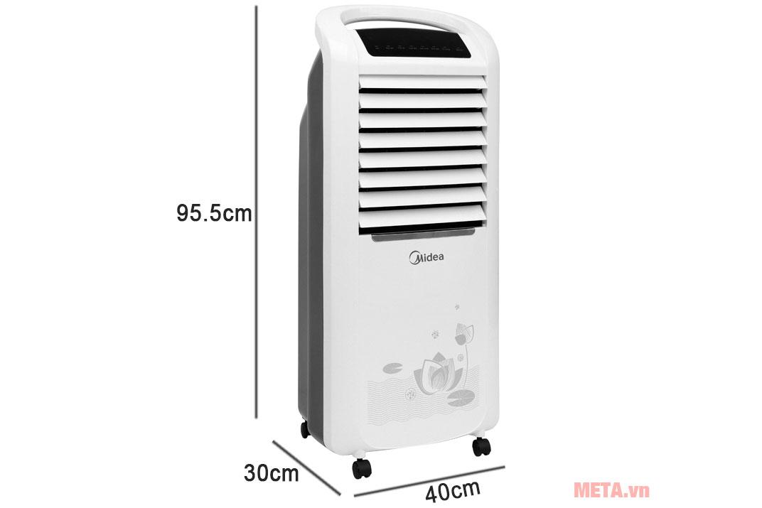 Kích thước máy làm mát Midea AC200-19WV