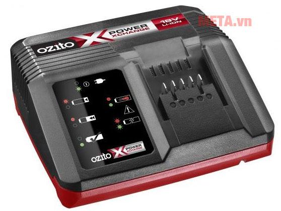 Sạc pin nhanh cho các công cụ dụng cụ cầm tay ozito