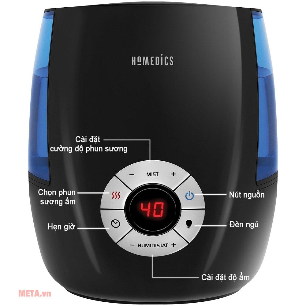 Bảng điều khiển máy tạo ẩm TotalComfort HoMedics UHE-WM68