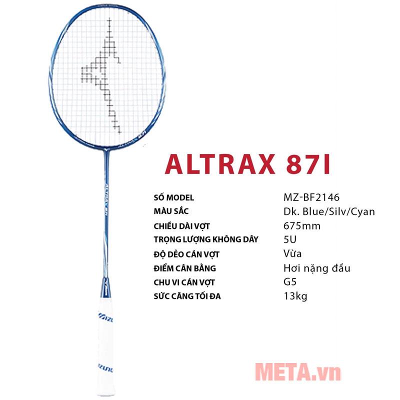 Vợt cầu lông Altrax 87i