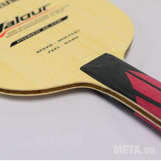 Cốt vợt bóng bàn Mizuno VALOUR FL được làm từ gỗ ép